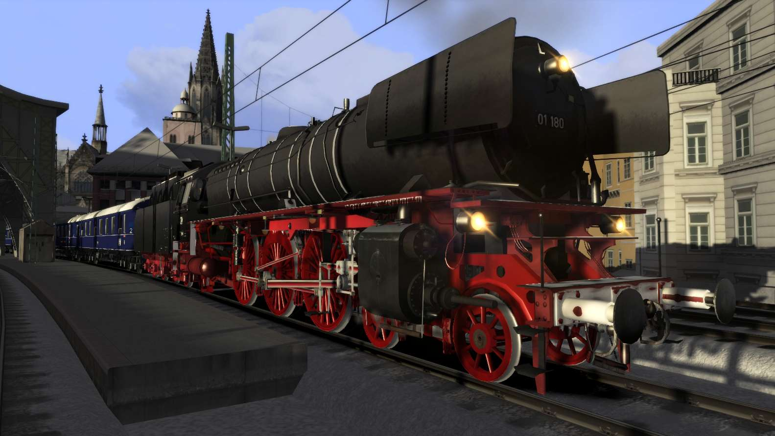 Romantic Railroads German Br01 Class Reboilered Jetzt