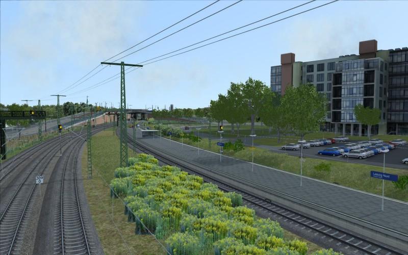 Der neue Haltepunkt Leipzig Nord