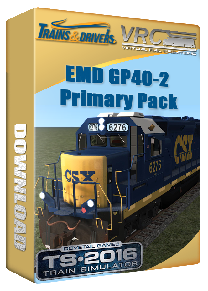EMD_GP40-2 Primary Pack