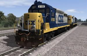 GP 40-2 CSX