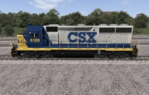 GP 40-2 CSX Frontal