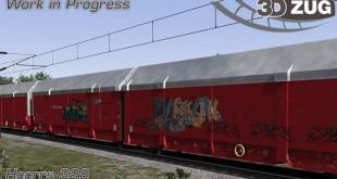 3DZUG HCCRRS Graffiti