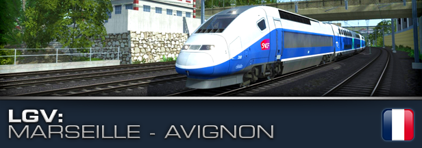 Train Simulator 2017 LGV Marseille - Avignon