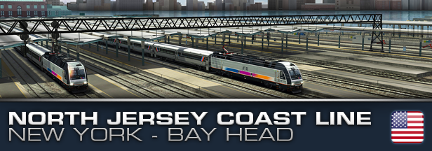 Train Simulator 2017 North Jersey Coast Line