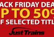 [JustTrains] Black Friday Sale bis 28.11.2016