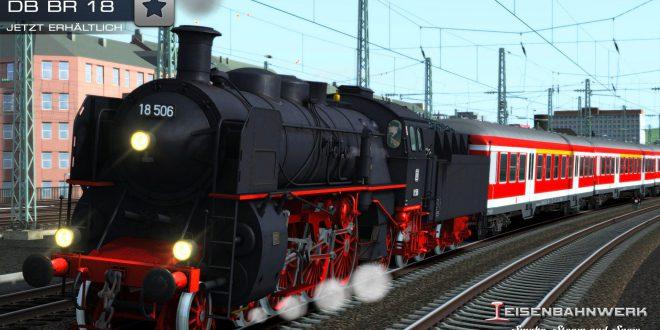 [Eisenbahnwerk/DTG] DB BR 18 nun erhältlich!