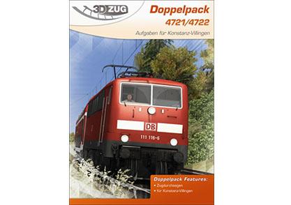 [3DZUG] Doppelpack 4721/4722 für Konstanz-Villingen erhältlich!