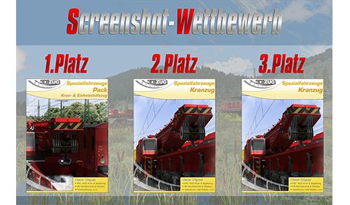 Screenshot-Wettbewerb in Kooperation mit 3DZUG