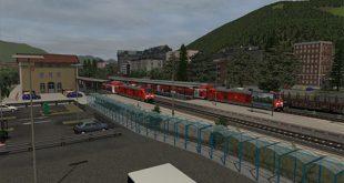 Allgäubahn Route