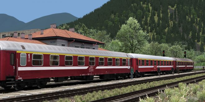 [Train-Sim România] CFR 19-55 Personenwagen erhältlich!