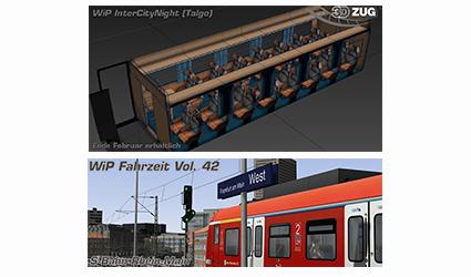 [3DZUG] Neues zum InterCityNight (Talgo) und zur Fahrzeit Vol. 42 – in Entwicklung