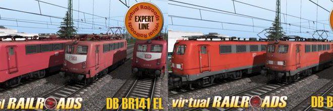 [vR] DB BR141 orientrot & verkehrsrot EL – jetzt erhältlich