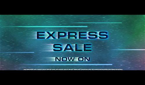 [DTG] Express Sale – vom 14.08.2018 bis zum 24.08.2018 (16 Uhr)