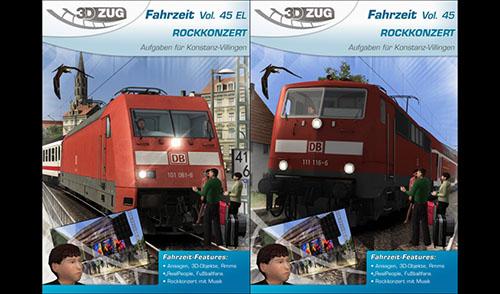 [3DZUG] Fahrzeit Vol. 45 /EL 'ROCKKONZERT' erhältlich!
