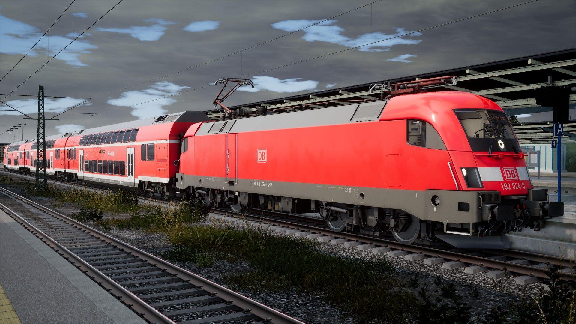 Review] Train Sim World: DB BR 182 Add-On - Rail-Sim de - Die Train
