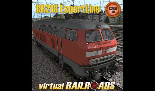 [vR] DB BR218 VRot ExpertLine – jetzt erhältlich!