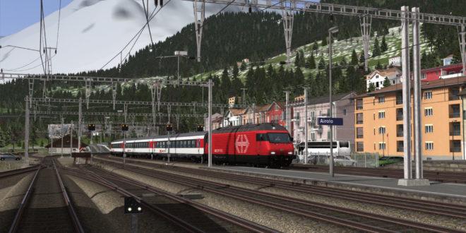 [Rivet Games] Die Gotthardbahn Erstfeld – Bellinzona angekündigt