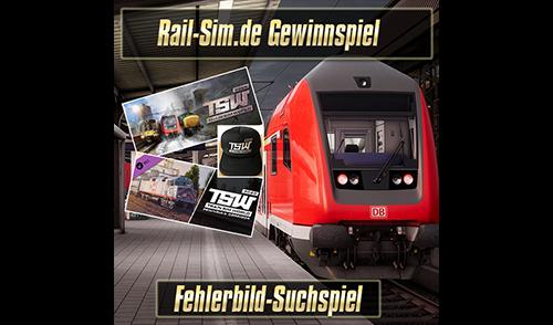 """Rail-Sim.de Gewinnspiel – """"Fehlerbild-Suchspiel"""""""