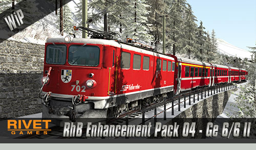 [Rivet Games] RhB Enhancement Pack 04 – Ge 6/6 II angekündigt