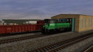 EMD SW1500 ex-BN