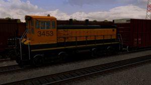 EMD SW1500 Heritage I