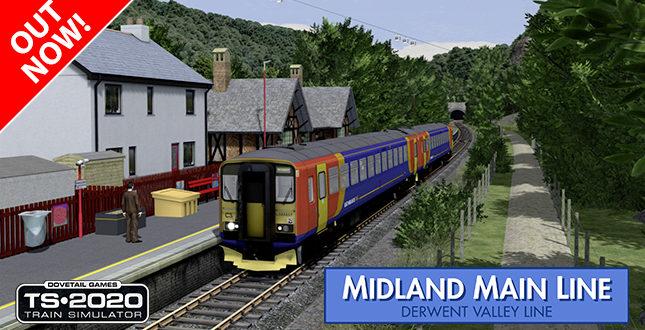 [JT] Midland Mainline: Derwent Valley Line erhältlich