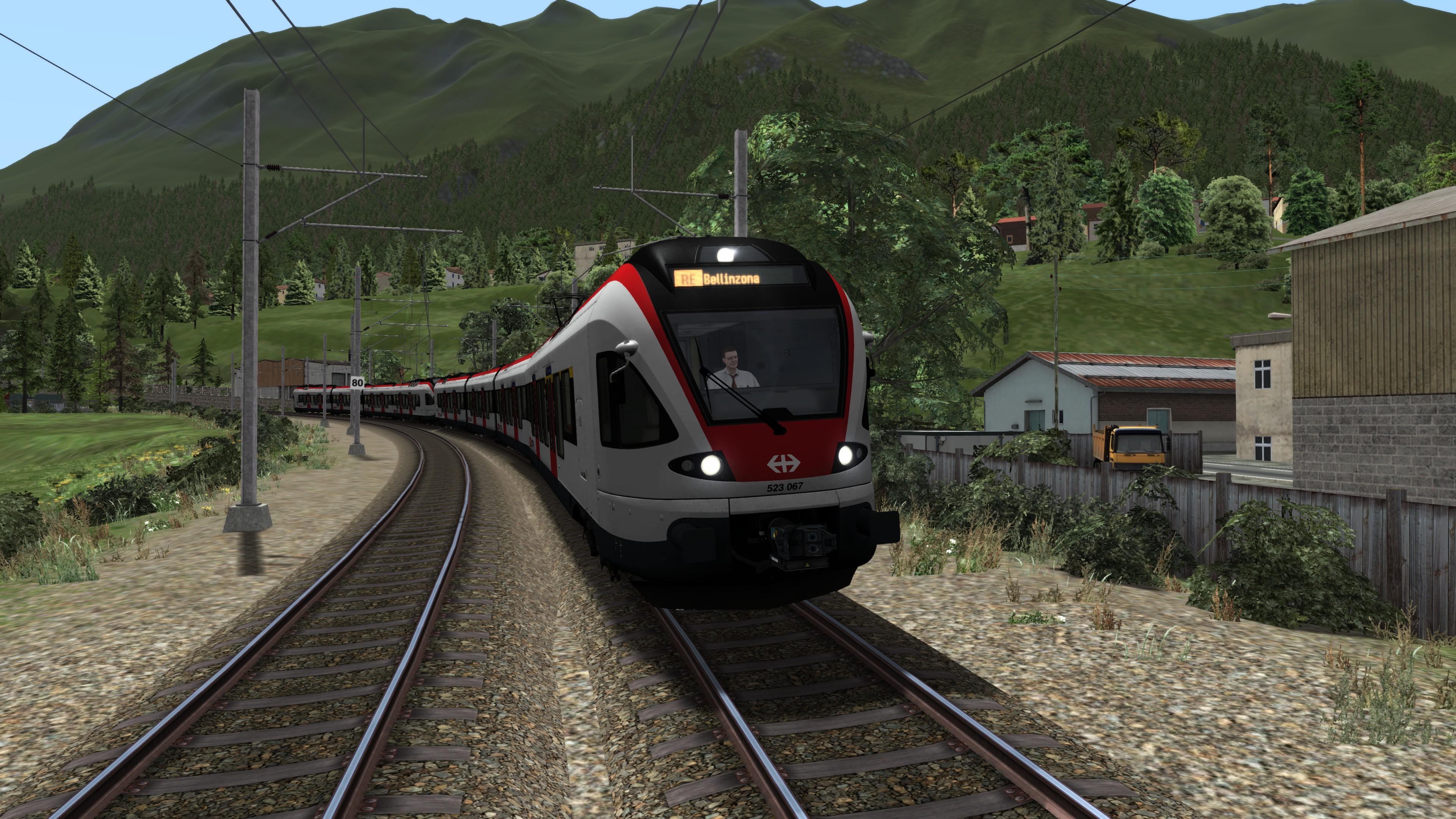 Review] RABe 523 von Rivet Games Rail Die Train