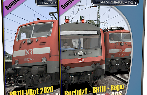 [vR] DB Bnrbdzf Regio Elektro / BR111 2020 Version erhältlich