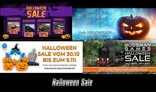 Übersicht der Halloween Sales!